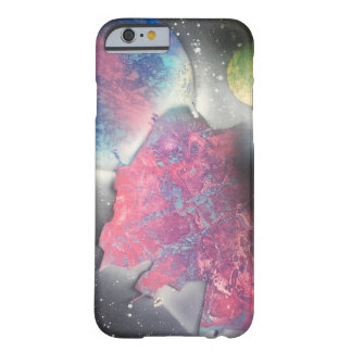 """Adventures"" Spray Paint Design Phone Case"