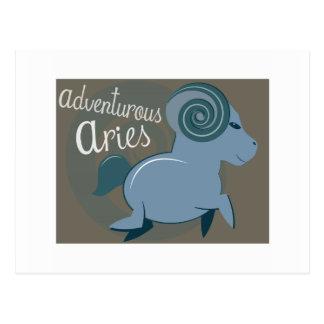 Adventurous Aries Postcard