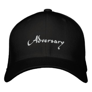 Adversary Embroidered Baseball Cap