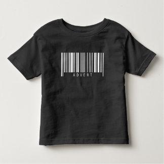 Advert Barcode Toddler T-Shirt