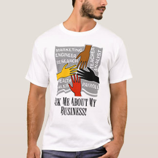 Advertise Your Business Men's Basic T-Shirt