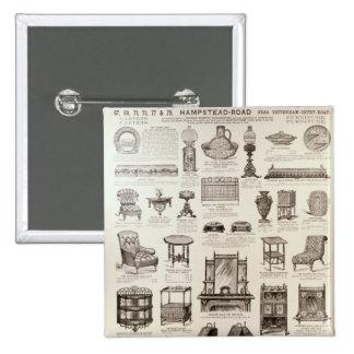Advertisement for Oetzmann & Co. 15 Cm Square Badge