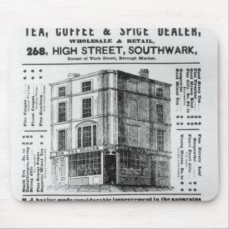 Advertisement for Robert Jones Tea Mousepads