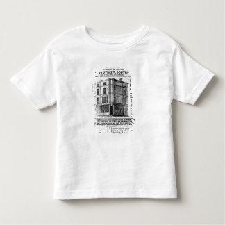 Advertisement for Robert Jones, Tea Toddler T-Shirt