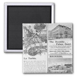 Advertisements for La Turbie Restaurant, Fridge Magnet