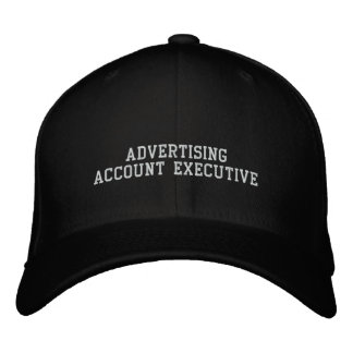 Advertising Account Executive Embroidered Baseball Caps