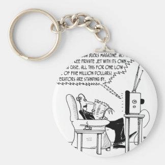 Advertising Cartoon 2133 Key Ring