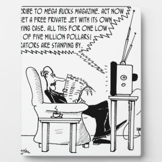 Advertising Cartoon 2133 Plaque