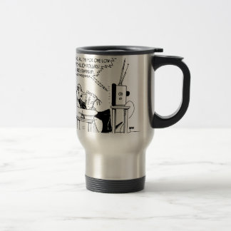 Advertising Cartoon 2133 Travel Mug