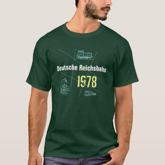 Advertising Design German National Railroad T-Shirt