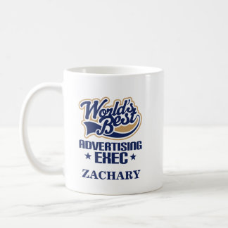 Advertising Exec Personalized Mug Gift