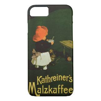 advertising for 'Kathreiner's Malt Coffee' iPhone 7 Case