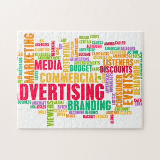 Advertising Online and in Traditional Media Method Jigsaw Puzzle