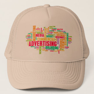 Advertising Online and in Traditional Media Method Trucker Hat