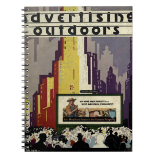 Advertising Outdoors Notebook