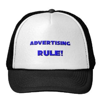 Advertising Rule! Hats