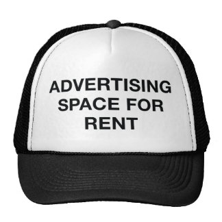 Advertising Space For Rent Cap