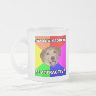 Advice Dog Swallow Magnets Coffee Mug