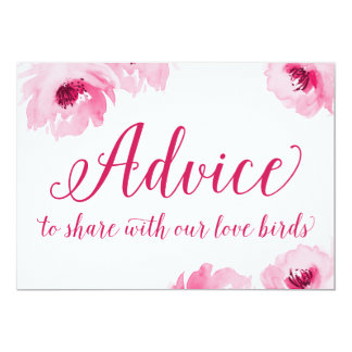 Advice to Share with our Love Birds Card