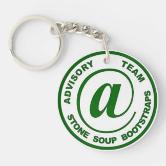 Advisory Team / Stone Soup Boostraps Key Ring