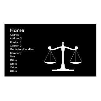 Advocare Black Pack Of Standard Business Cards
