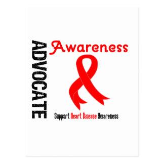Advocate Awareness - Heart Disease Postcard