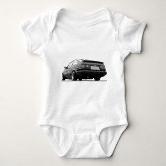 AE86 Black & White Baby Bodysuit