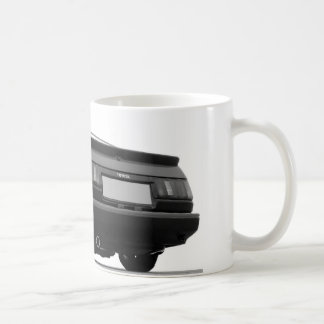 AE86 Black & White Coffee Mug