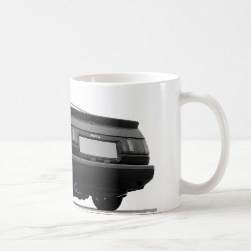 AE86 Black & White Coffee Mug