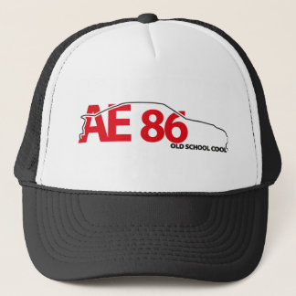 AE86 outline Mesh Hat