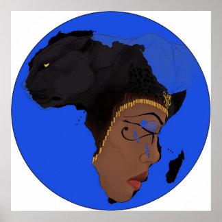 AE Symbols of Africa Poster