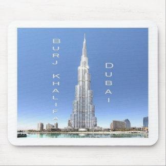 AE United Arab Emirates - Dubai - Burj Khalifa Mouse Pad