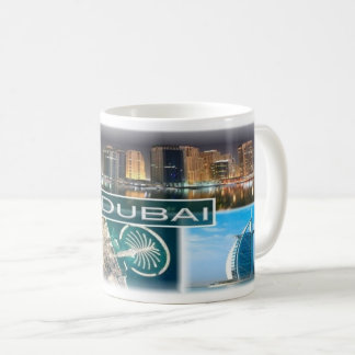 AE  United Arab Emirates - Dubai - Marina towers Coffee Mug