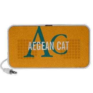 Aegean Cat Monogram Speakers