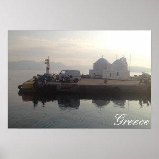Aegina Island, Greece Poster
