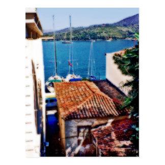 Aegina Island Postcard