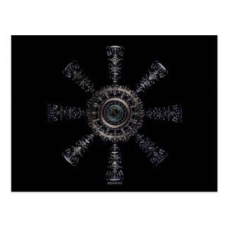 ☼Aegishjalmur – Ancestral and Spiritual Rune☼ Postcard