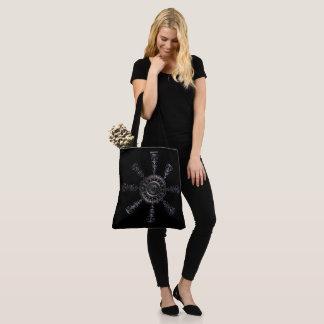 ☼Aegishjalmur – Ancestral and Spiritual Rune☼ Tote Bag