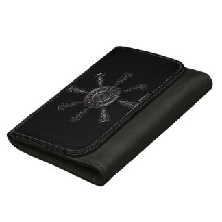 ☼Aegishjalmur – Ancestral and Spiritual Rune☼ Women's Wallet