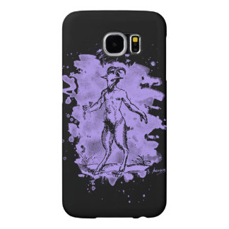 Aegopithecus bleached - violet samsung galaxy s6 cases