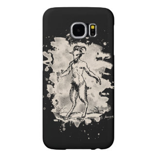 Aegopithecus bleached - white samsung galaxy s6 cases