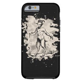 Aegopithecus bleached - white tough iPhone 6 case