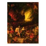 Aeneas in Hades Postcard
