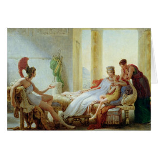 Aeneas telling Dido of the Disaster at Troy Card