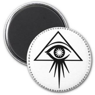 Aeon all-seeing eye Magnet (White)