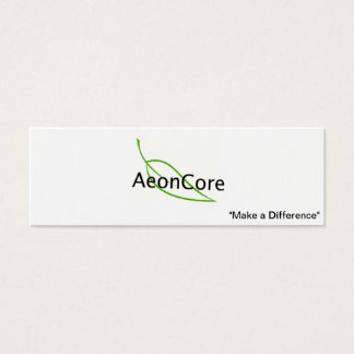 AeonCore Business Card