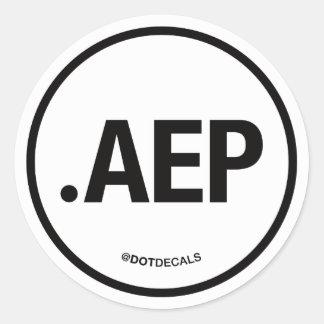 AEP Sticker