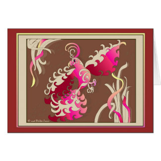Aerial Flamenco by Debbie Jensen Card