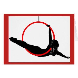 Aerial Hoop Dancer Note Card