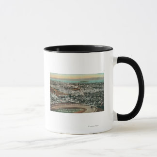 Aerial of the City from the Twin Peaks Mug
